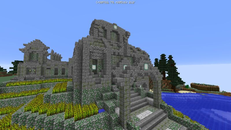 Ruins near spawn