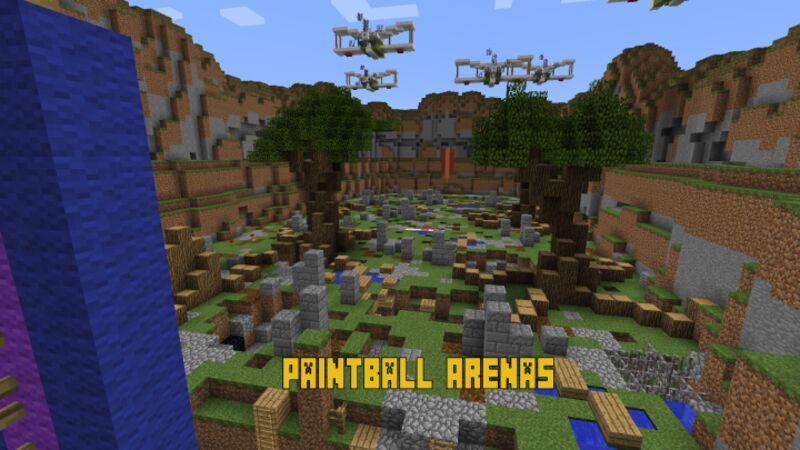 Paintball arenas