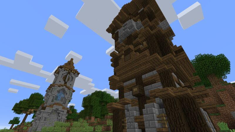 Overworld Spawn Area