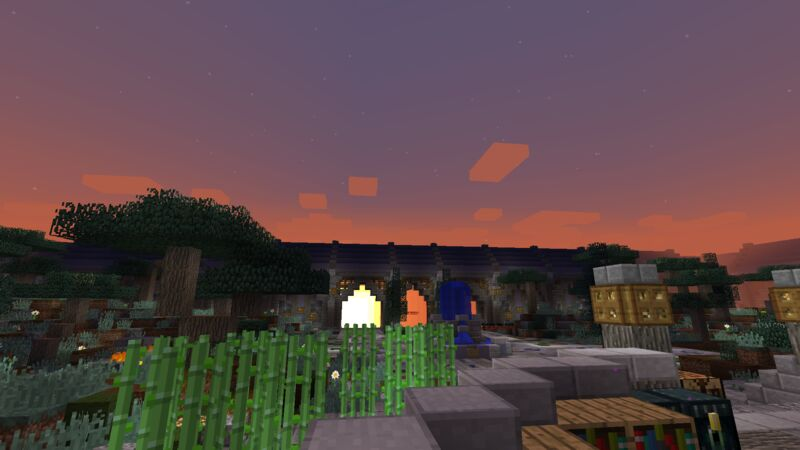 Sunrise At Spawn