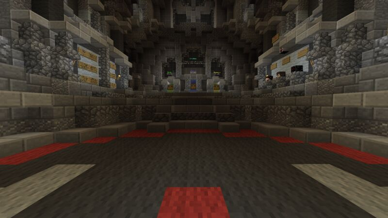 Crates room