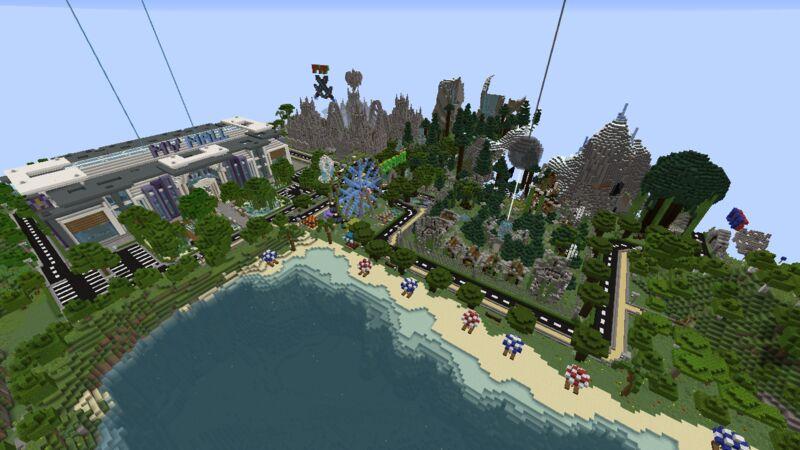 Arena City and Server Shop
