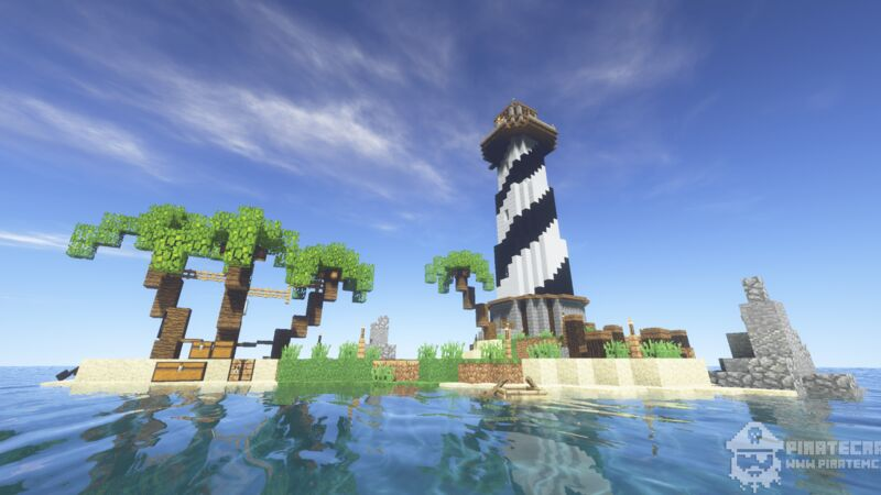 Pirate island Lighthouse